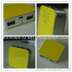 The high capacity External Power Bank for cell phone