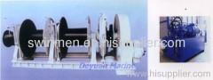 hydraulic anchor windlass