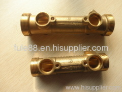 Brass connector for industy and machine with big quantity and high quality