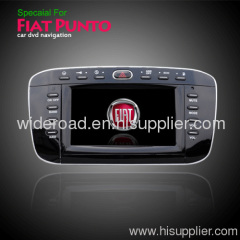 Special car dvd player for Fiat punto with Specail in-dash Car DVD GPS Navigation Canbus DVB-T USB Bluetooth