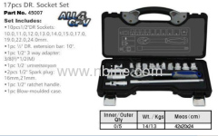 Drive Hand 17pcs DR. Socket Set
