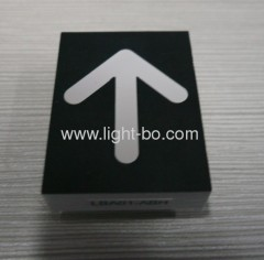 Ultra bright red single arrow design led displays for lift position indicators