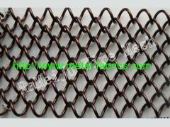 Cascade coil drapery color E