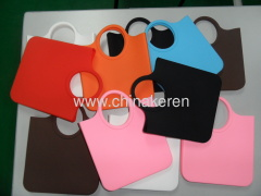 2013 fashion silicone colors Grip bag