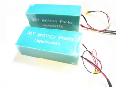 24V 9Ah Li-ion Battery Pack with SCI Communication