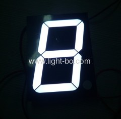 7 segment display 3 inch;white 3 inch 7 segment led display;