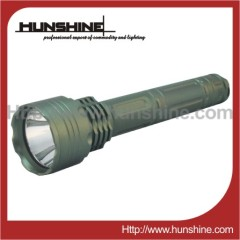 rechargeable highlight cree Q5 led flashlight