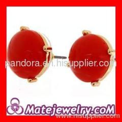 bubble ball stud earrings