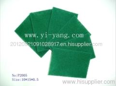 scouring pad nylon pad green pad scratch pad