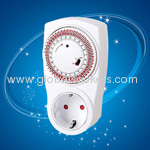 programmable mechanical European socket outlet timer