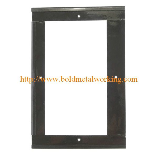 fabricated sheet metal frame