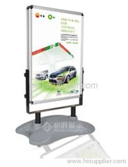 Outdoor Poster Stand with Plastic Water-base