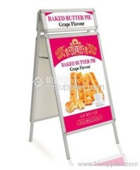 Exhibition Displays Double Stand Poster Stand