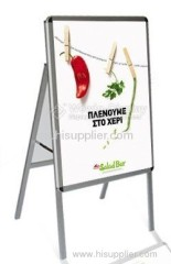 Aluminum Outdoor Poster Stand, Poster Board Display