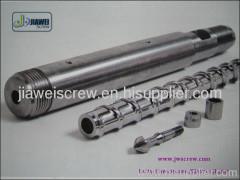 plastic extruder machinery single screw barrel