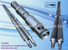 conical twin screw barrel for pvc