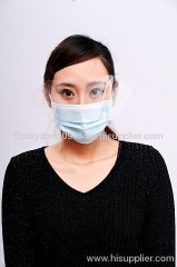 Non Woven Face Mask with plastic Shield