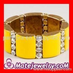 yellow J Crew bracelet