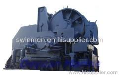 Hydraulic windlass mooring winch