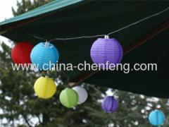 colorful garden LED lightings strings