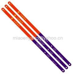 Bimetal hacksaw blade