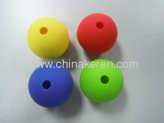 fashion silicone yellow red blue green ice balls
