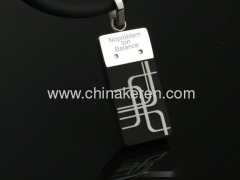 2013 Fashion silicon power necklaces