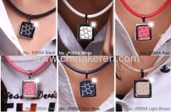 Fashion silicone distortion power necklaces