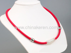 silicone Power Balance necklaces