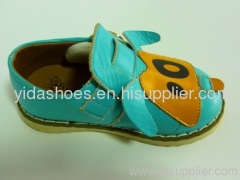 genuine leather children shoes