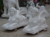 White Marble Animal Sculpture