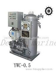 YWC 0.5 marine 15ppm Bilge Separator