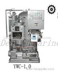 YWC 1.0 marine 15ppm Bilge Separator