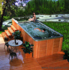 Swimming pool +spa