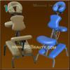 folding metal massage chair