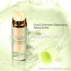 Dual Chamber Dispenser Plastic AirlessPlastic Airless Bottle