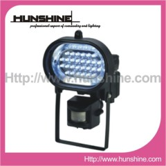 28LED outdoor flood light with motion sen