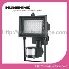 60LED outdoor motion sensor luminaire lighting