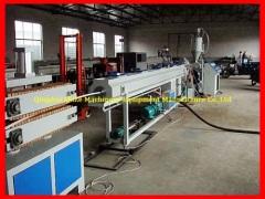 China PVC water drainage pipe making machine