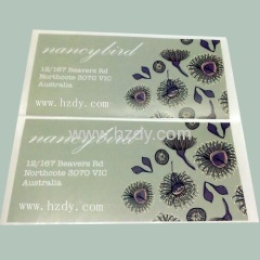 Paper stickers Printed Adhesive