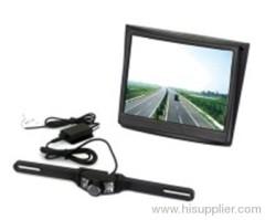 2.4GHz wireless car camera