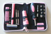 pink color lady's tools kits