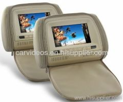 China Wholesale Headrest Monitor DVD Player with Remote and Gaming Syste