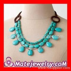 J Crew necklace ribbon