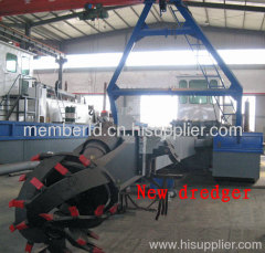 China new hydraulic sand dredging machine for sale
