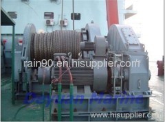 46KN Electric anchor windlass and mooring winch
