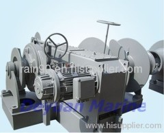 19KN Hydraulic anchor windlass and mooring winch