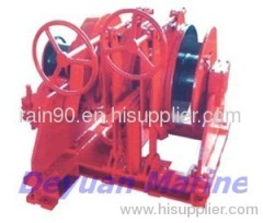 60KN Hydraulic anchor windlass and mooring winch