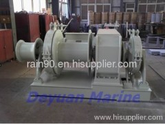 140KN Hydraulic anchor windlass and mooring winch