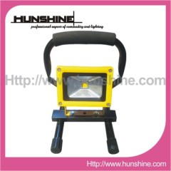 10W Outdoor led floodlight garden lamp with hold